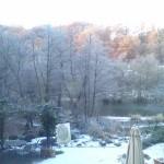 River Teme in winter,Ludlow