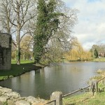 Whittington Castle Moat
