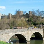 Bridge over River Teme, Ludlow
